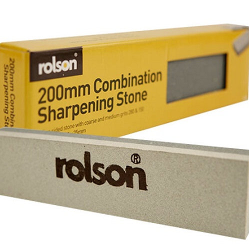Two sided sharpening stone manufactured from aluminium oxide, with coarse 280 and medium 150 grits