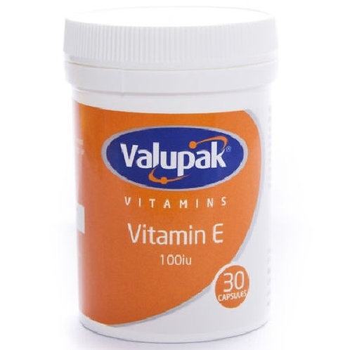 Vitamin E Capsules, Vitamin E is involved in the maintenance of healthy skin, a healthy heart, blood cells and blood vessels