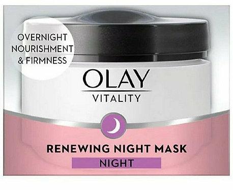 Olay Vitality Renewing Night Mask Night 50ml