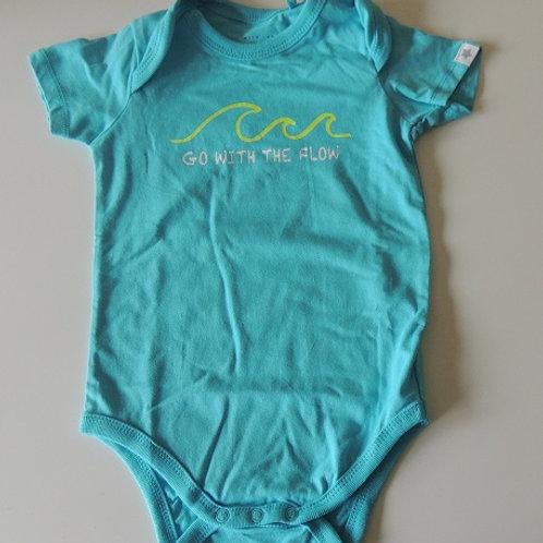 Go With The Flow Baby Bodysuit