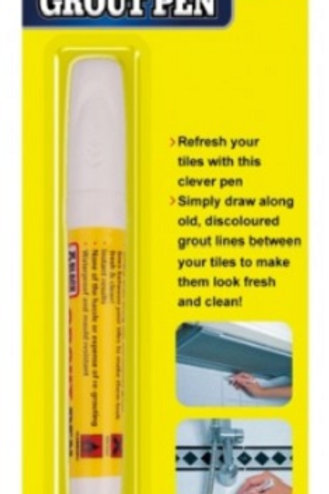 Fast And Easy Way Of Restoring & Protecting Stained Tile Grout  Perfect For Bathroom/Kitchen Tiles