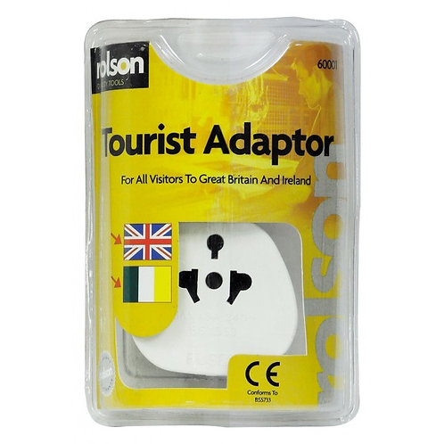 Tourist Adaptor Visiting UK