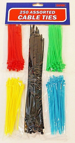 Cable Ties - 250 Pack