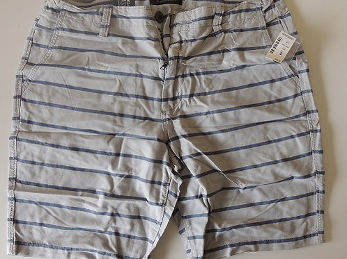 Aeropostale Mens Beige Striped Shorts imported from Europe, brand new with tags - RRP US$39.50