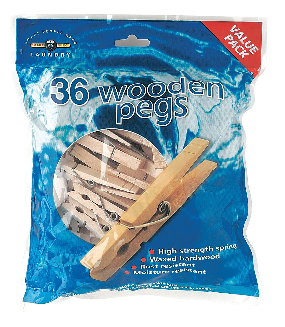 Wooden Clothes Pegs
