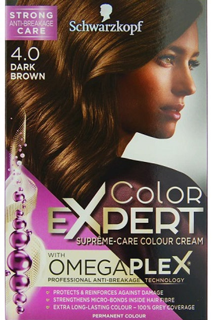 Get your hair looking great at home with this Schwarzkopf Colour Expert Dark Brown Hair Dye