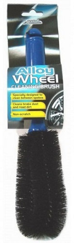 Alloy and Steel Wheel Cleaning Brush