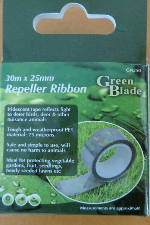 Repeller Ribbon reflects light and creates sound to scare birds
