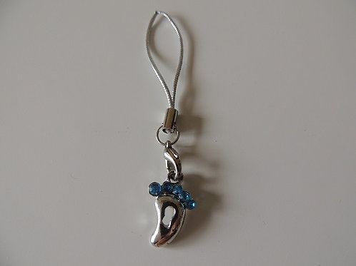 Key Ring / Mobile Phone Charms Blue