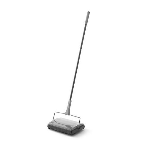 Addis Multi-Surface Manual Floor Sweeper highly effective at collecting dirt & dust particles
