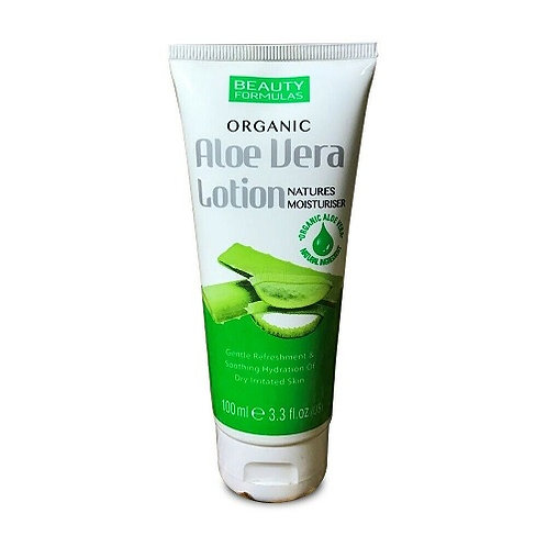 Aloe Vera Lotion perfect moisturising and cooling relief for dry, rough, irritated or sun-exposed skin