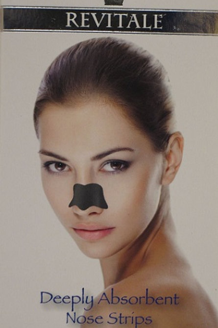 Revitale Deeply Absorbent nose strips provide a complete pore cleaning treatment. Formulated with natural charcoal extract
