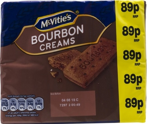 McVities Bourbon Creams 300g