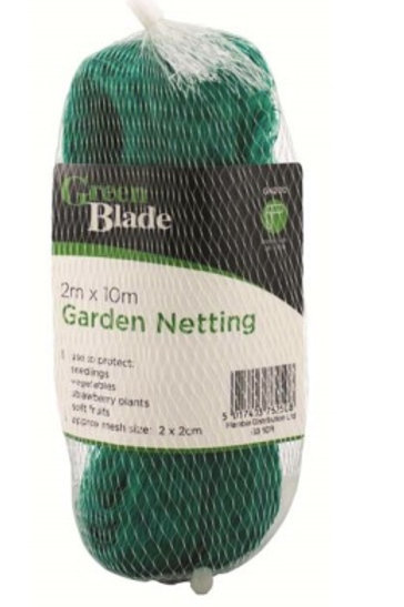 This garden netting is ideal for protecting seedlings, vegetables, strawberry plants andsoft fruits