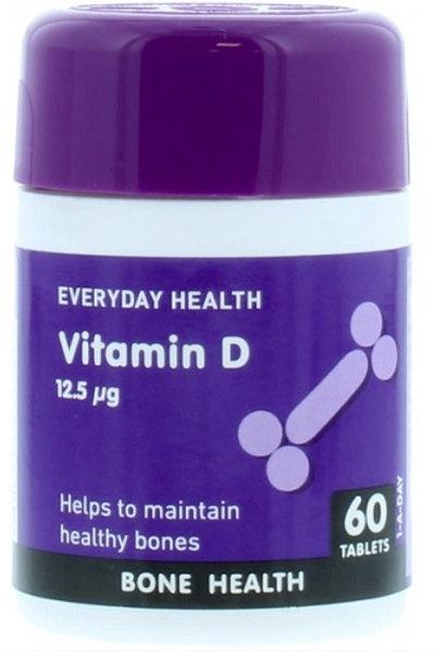 Vitamin D Tablets supplement for healthy bones