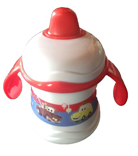 Cars Baby's Twin Handled Non Spill Beaker Cup
