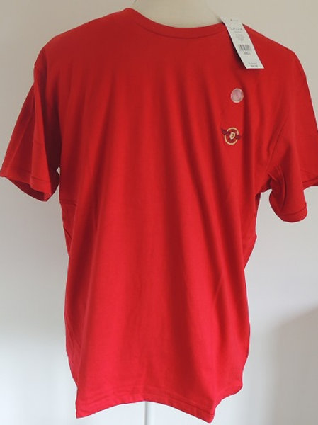 Top Look Red 100% Cotton T Shirts