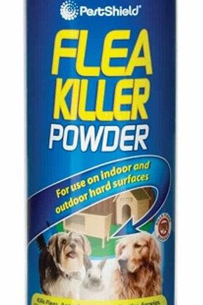 Flea Killer Powder for use indoors and outdoors, kills Fleas, Ants, Cockroaches, Beetles, Earwigs, Silverfish, Woodlice, Wasp