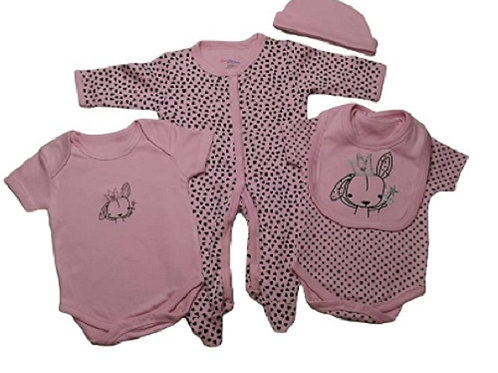 Baby 5 Piece Clothing Set Bunny