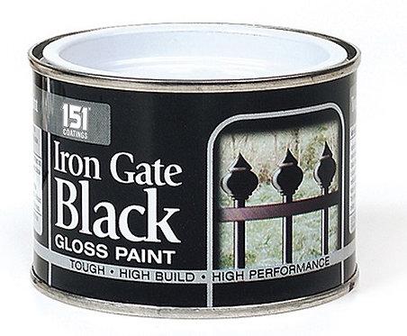 Iron Gate Black Gloss Paint