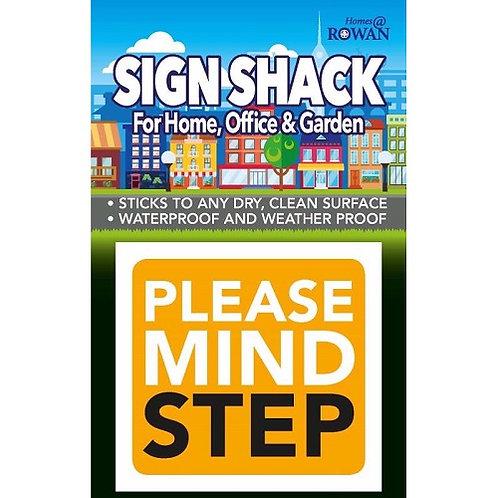 Please Mind The Step Sticker