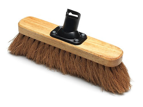 Addis 275mm Coconut Fill Soft Broom Head Coco for sweeping light dust and debris