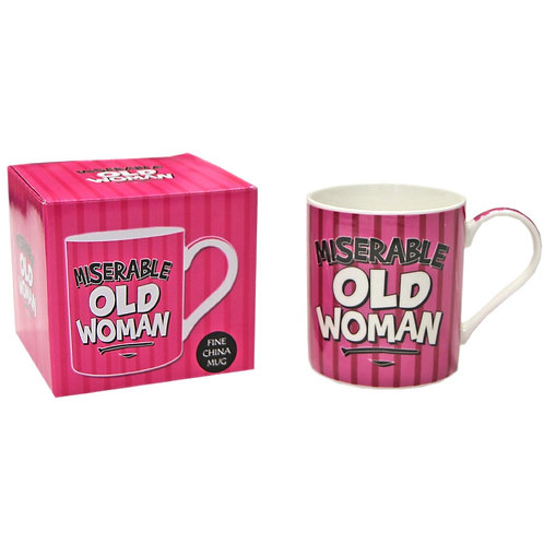 Miserable Old Woman Mug