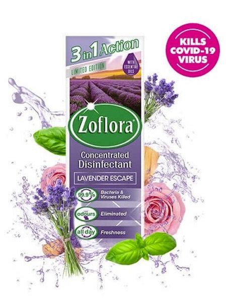 Zoflora Lavender Escape Disinfectant New Zealand