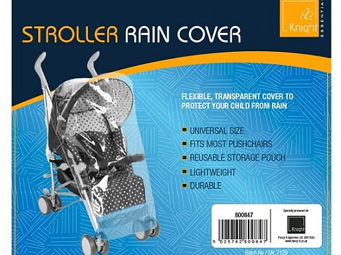 Stroller Push Chair Rain Cover Flexible, Transparent Cover To Protect Your Child From Rain