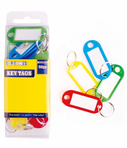 Coloured Key Tags