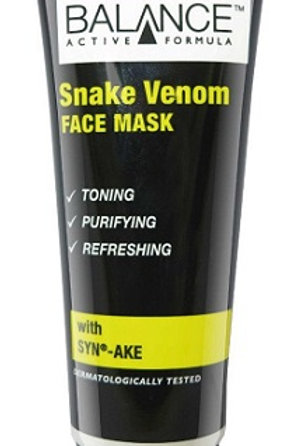 Balance Active Formula Snake Venom Face Mask deeply tones, purifies and refreshes all skin types