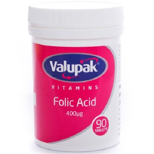 Folic Acid Tablets, Folic acid is recommended for normal foetal growth in pregnancy