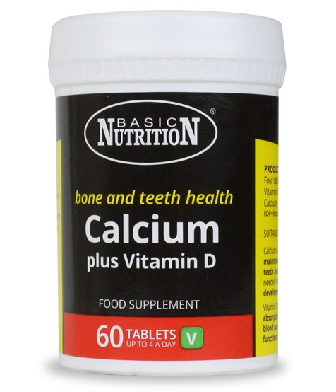 Vitamins - Calcium & Vitamin D 60s