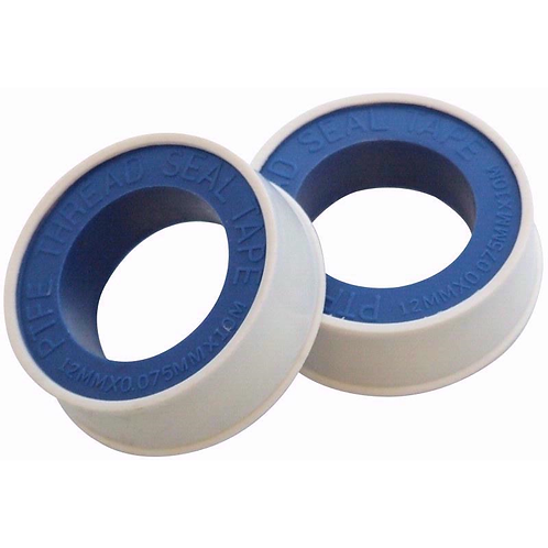 2 piece threaded sealing tape for sealing metal and plastic joints ideal for plumbers, mechanics, contractors and DIY