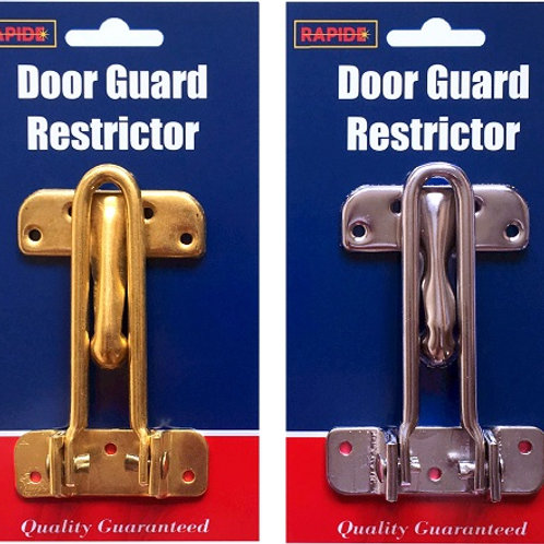 Door Guard Restrictor, make your home that little bit safer