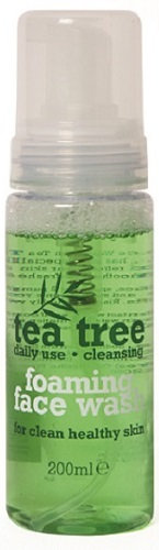 everyday low prices, tea tree, face wash, foaming, tea tree face wash