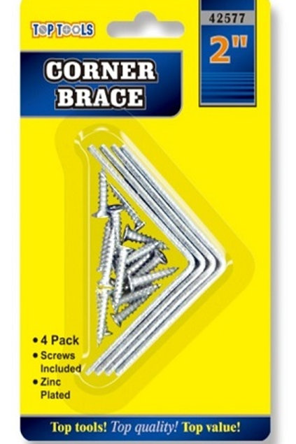 """2"""" / 50mm Corner Braces designed for repairing and reinforcing timber joints"""