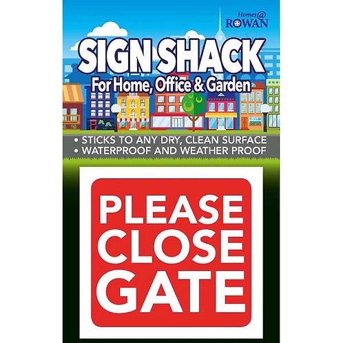 Please Close The Gate Sticker