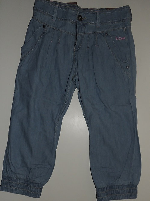 Girls Lee Cooper Cropped Denim Pants  Size 11 - 12 Years
