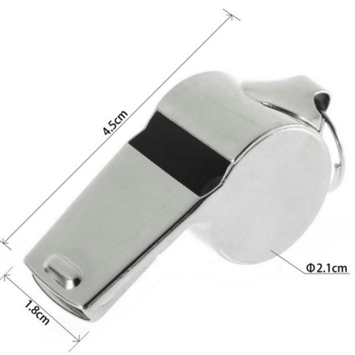 Metal Whistle for outdoor activities, sports, hiking, camping, pet training and emergencies