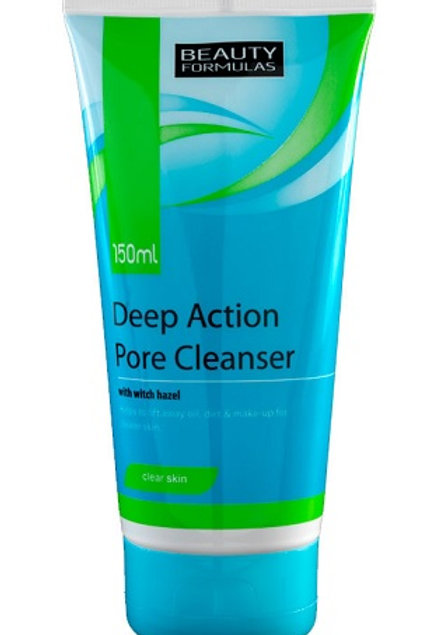 Deep Action Pore Cleanser helps to lift away oil, dirt and make-up for clearer skin