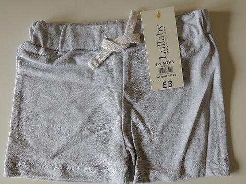Grey Shorts 0 - 3 months