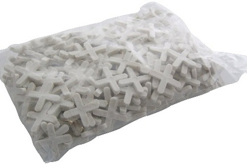 300 x 3mm Tile Spacers used for accurate tile positioning, spacers provide regular gaps/intervals between tiles