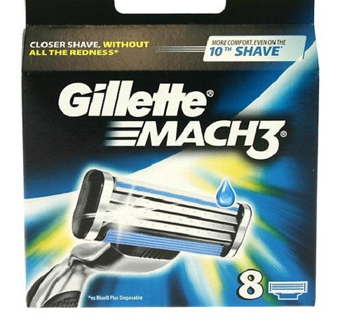 Gillette Mach3 Blades 8s