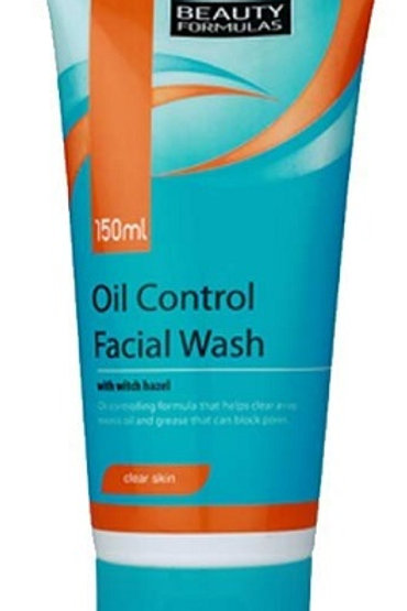 Oil Control Facial Wash helps to lift away excess oil and grease that can block pores