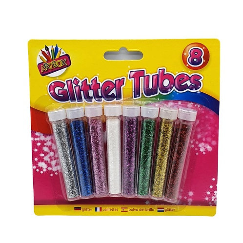 Mixed colour glitter tubes perfect for all of your craft needs