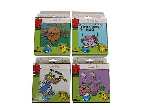 Mr Men & Little Miss Sandwich Box, Mr Bump, Little Miss Hug, Mr Tickle