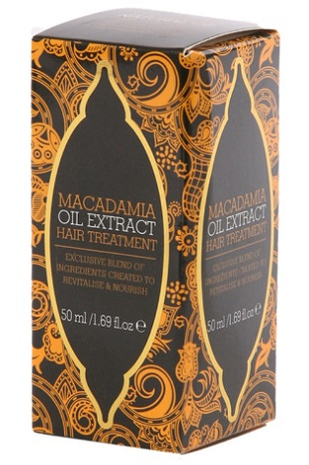 This Macadamia Hair Treatment Oil has been specially formulated using oil from the macadamia nut and enriched with vitamin E