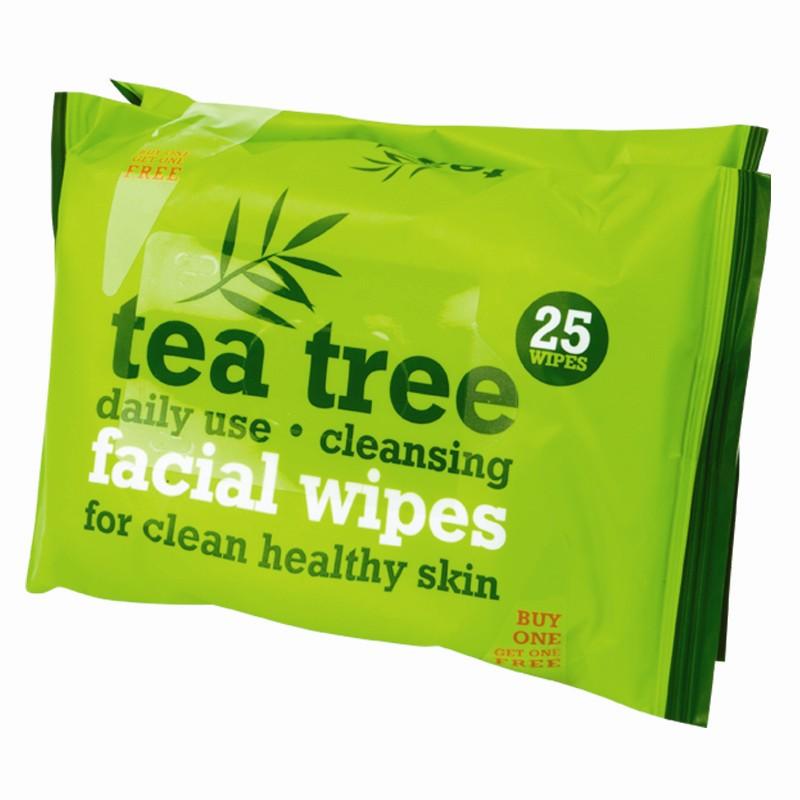 tea tree face wipes