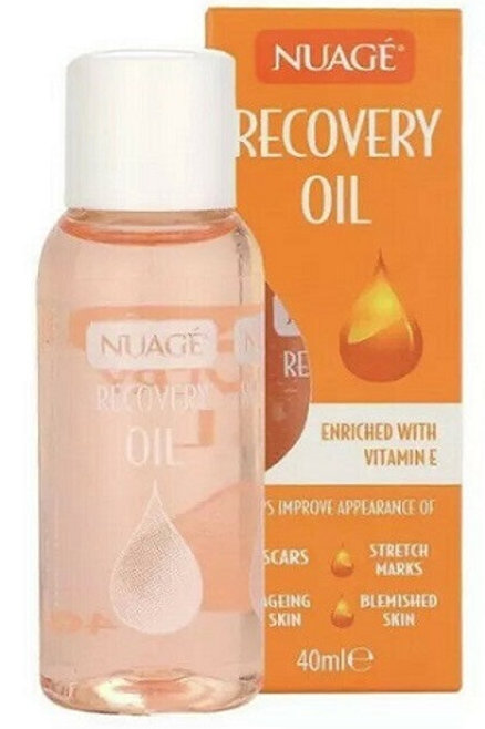 Recovery Oil has been specially formulated to help minimise the appearance of stretch marks, scars, blemishes and uneven skin